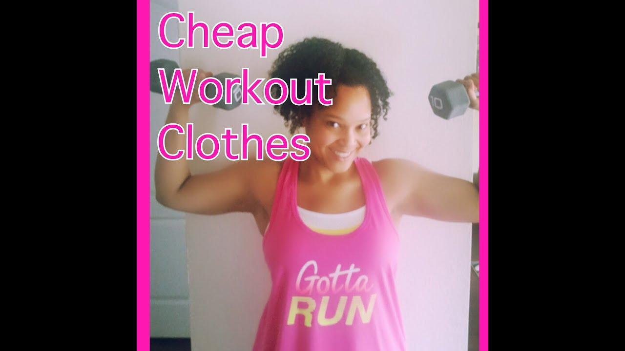 cheap workout clothes haul
