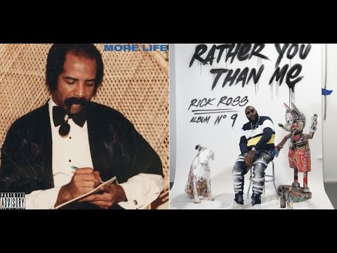 """Drake's """"More Life"""" Sells 505K first week while Rick Ross Sells 100K with """"Rather You Than Me"""""""