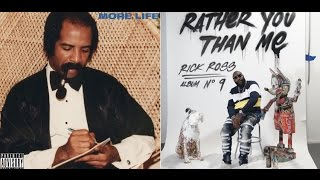 Drake's 'More Life' Sells 505K first week while Rick Ross Sells 100K with 'Rather You Than Me'