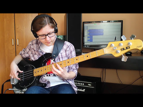 Red Hot Chili Peppers - Dark Necessities (Bass Cover)