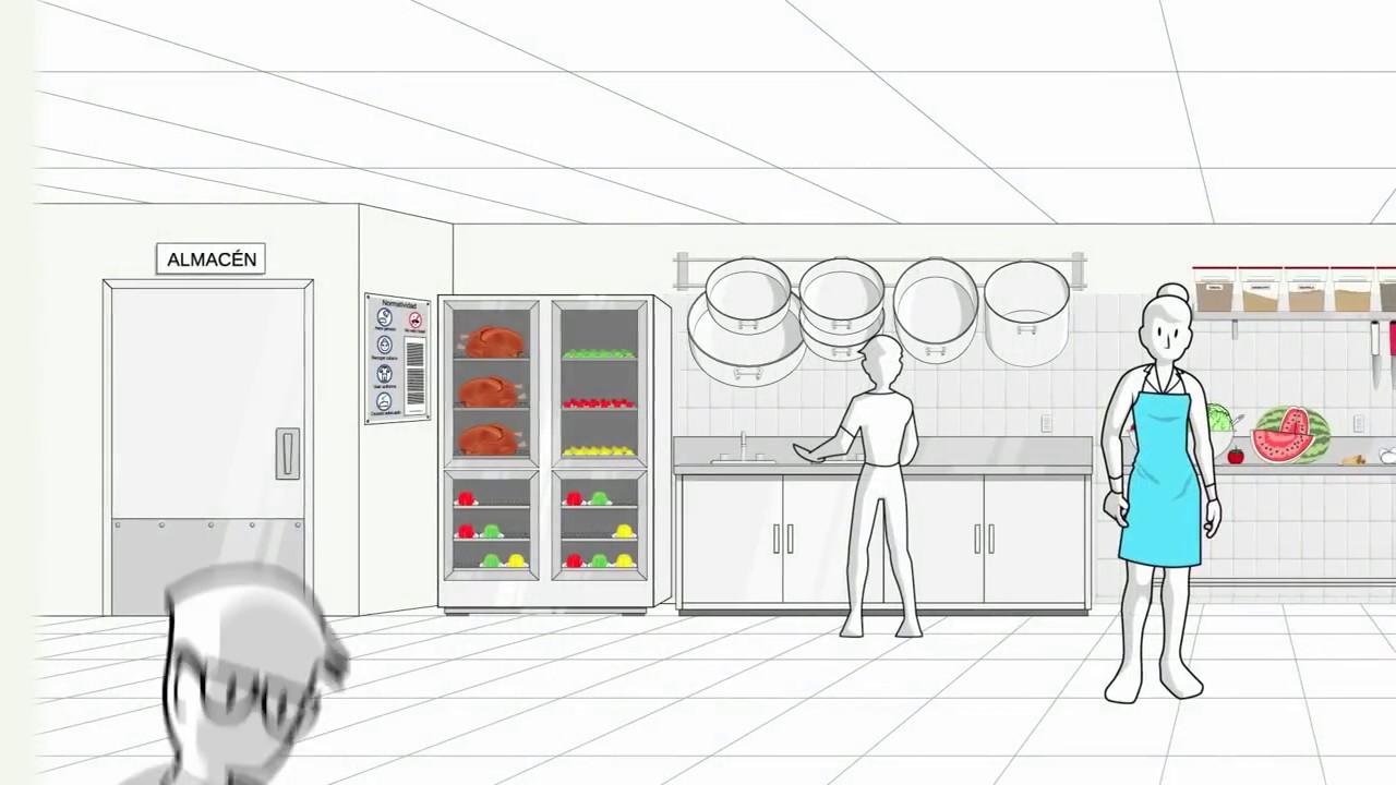 Curso de cocinero programa de limpieza y desinfecci n de for Programa de limpieza y desinfeccion de una cocina