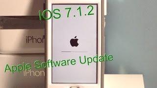 IOS 7.1.2 Software Update