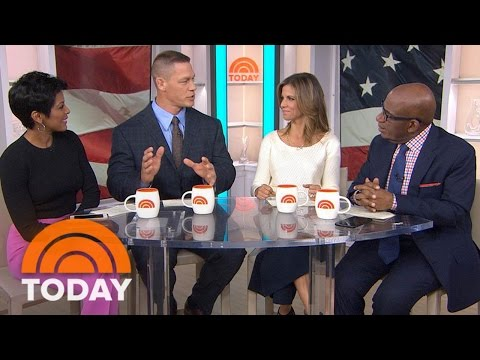 John Cena Talks Real Heroes And New Show 'American Grit' | TODAY