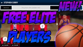 How to get FREE ELITE Players on NBA LIVE Mobile NO HACKS!