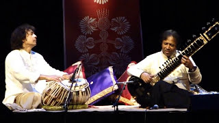 The Two Masters - Ustad Shahid Parvez Khan (sitar) and Ustad Zakir Hussain (tabla) live
