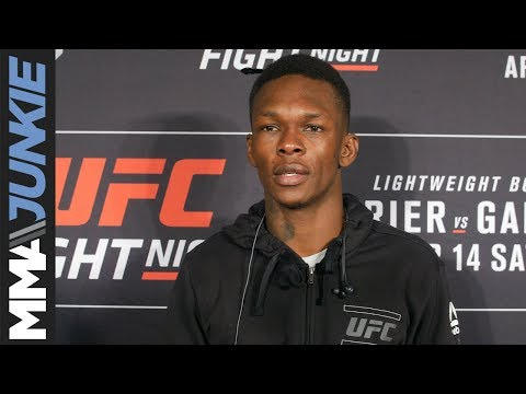 UFC on FOX 29: Israel Adesanya full post-fight interview