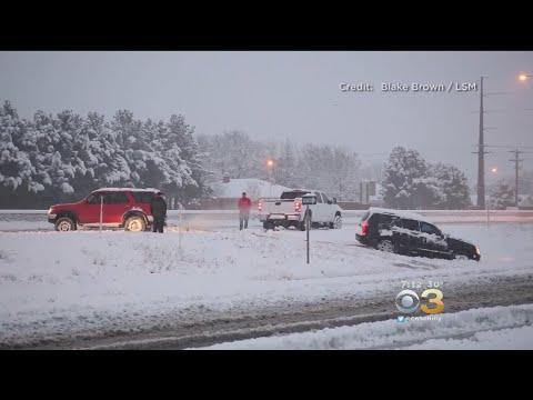 Major Winter Storm Slams South with Snow, Sleet