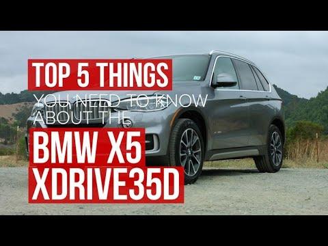 2017 BMW X5 diesel: Five things to know - Dauer: 83 Sekunden