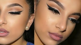 Winged Liner & Bold Brow Tutorial | Makeup By Leyla