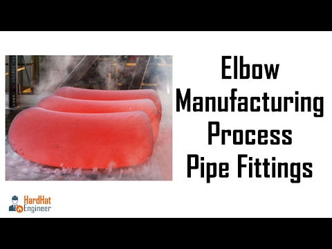 Elbow Manufacturing Process - Pipe Fittings - YouTube