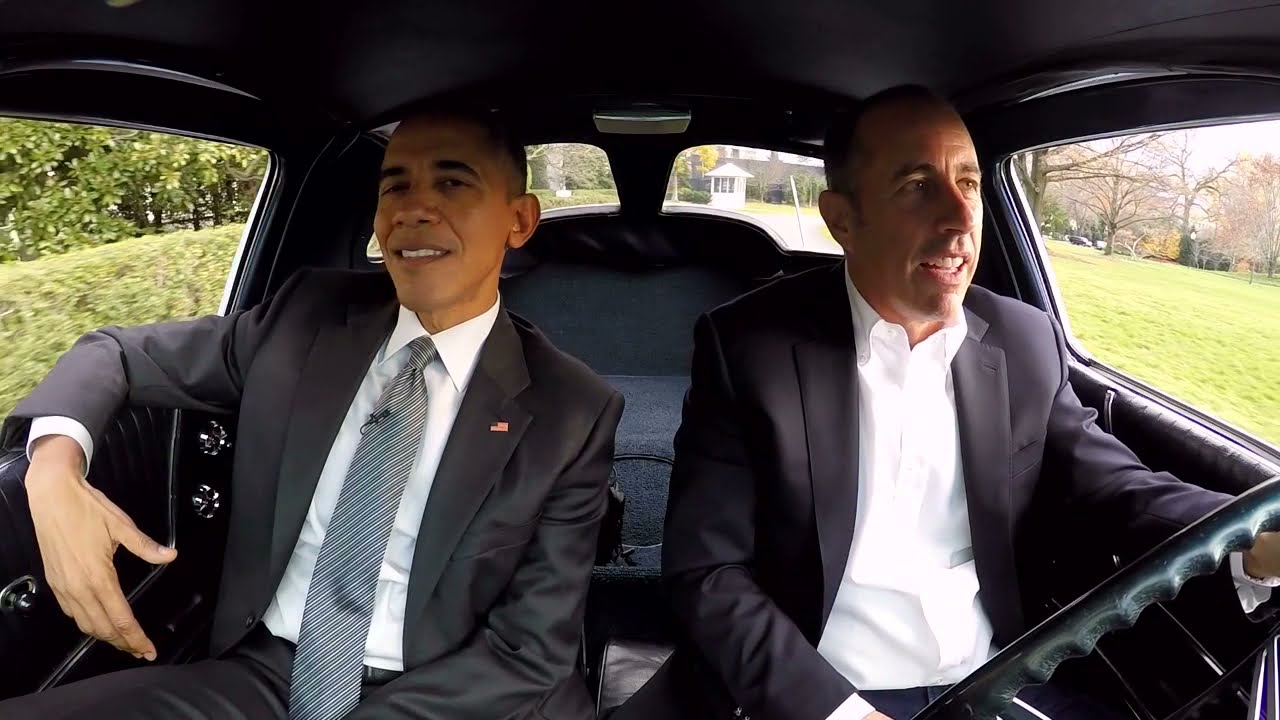 Comedians in Cars Getting Coffee - Just tell him youre the President