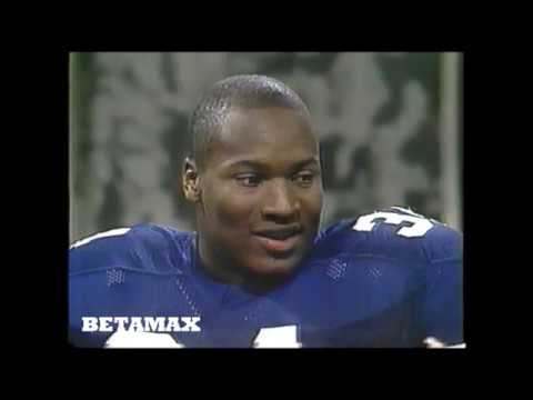 Bo Jackson on Bob Hope Christmas Special 1985