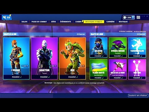 BOUTIQUE FORTNITE du 21 Mars 2019 ! ITEM SHOP March 21 2019 ! thumbnail