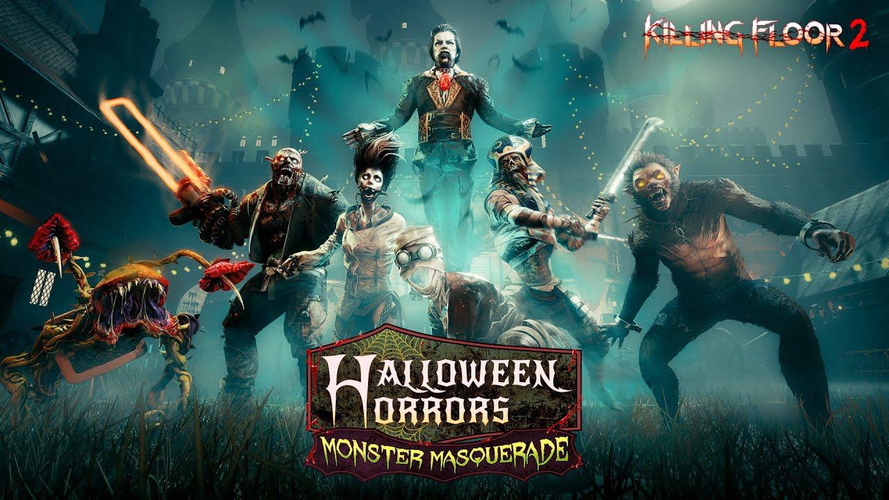 Kf2 Halloween Update 2020 Killing Floor 2   Halloween Horrors: Monster Masquerade Trailer