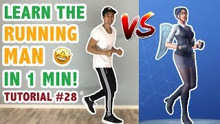 How To Do The Running Man Challenge (Fortnite Dance Tutorial #28) | Learn How To Dance