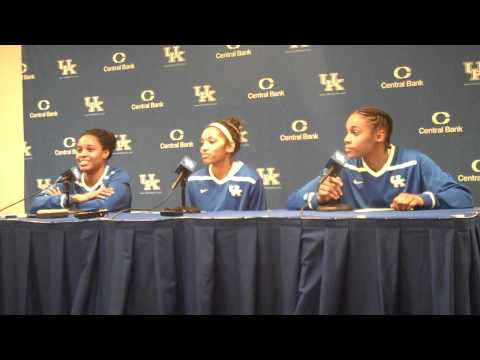 Goss, Snowden, and Mathies After UK Hoops Win vs South Carolina Part 1.MP4