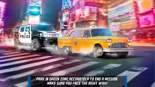 New York City Car Taxi and Bus Parking Simulator Gameplay!