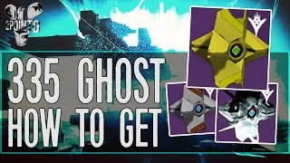 """Destiny: 335 GHOST SHELL """"How To Get A 335 Ghost Shell"""" - Easy 335 Ghost Shell - Sunlit Shell"""