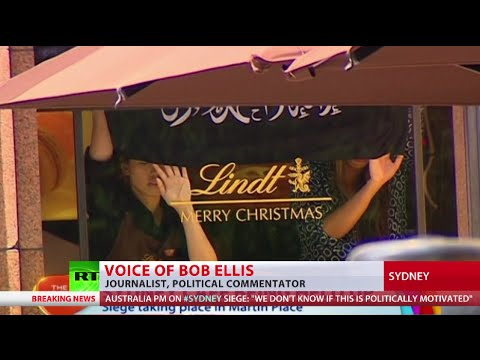 Sydney Lindt Cafe Attack: Hostages trapped, gunman armed, motives unknown