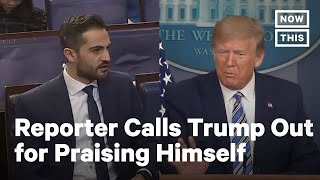 Trump Insults CNN Reporter Who Challenged Him | NowThis