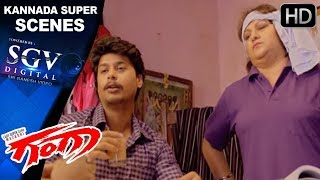 Malashree Super Helping For Studies - Kannada Super Scenes | Ganga Kannada Movie