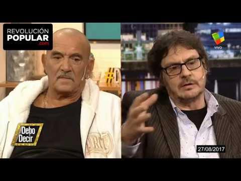 Felipe Pigna dejó en ridículo a Rolando Hanglin cuando quiso pegarle a los Mapuches.