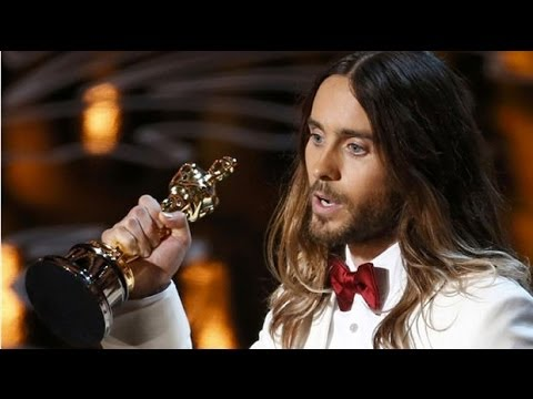 Jared Leto's Oscars message to Ukraine