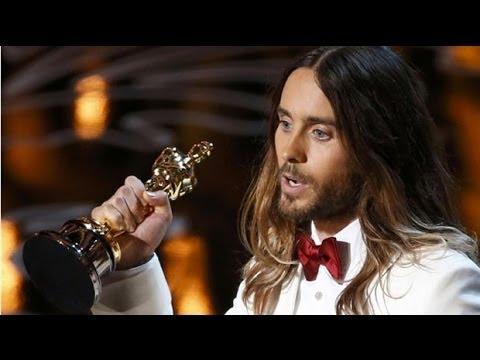 Jared Leto's Oscars message to Ukraine