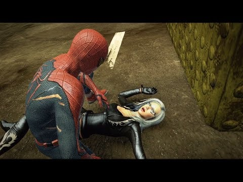 Человек-Паук против Черной Кошки. The Amazing Spider-Man