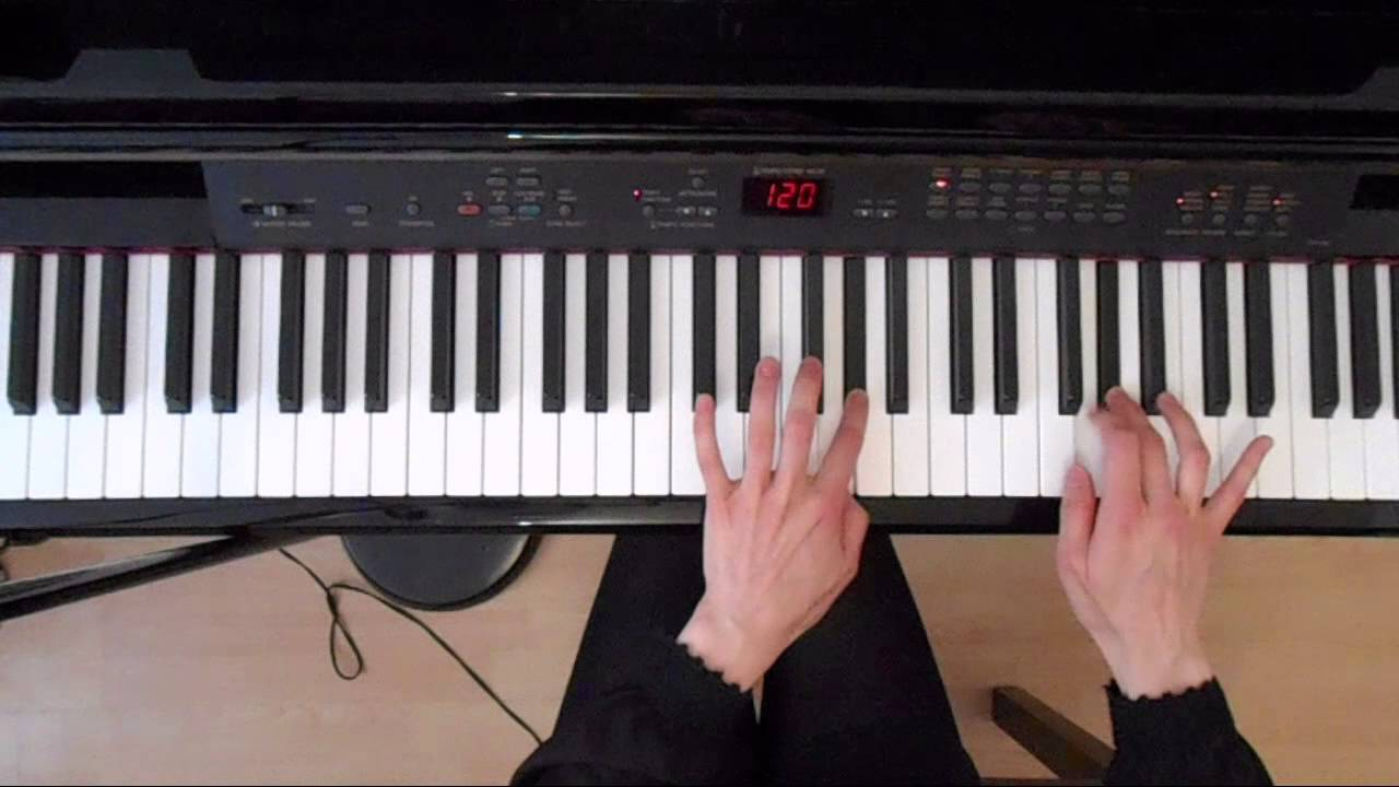 Online Piano Scales: G#Minor Melodic Scale Tutorial