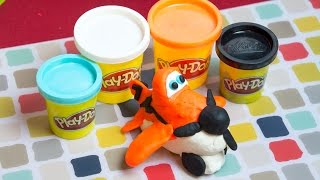 Planes PlayDoh - How to make Dusty Crophopper from Disney