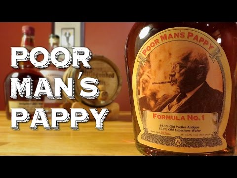 Poor Man's Pappy - How to Make a Pappy Van Winkle 20-Year Bourbon Substitute