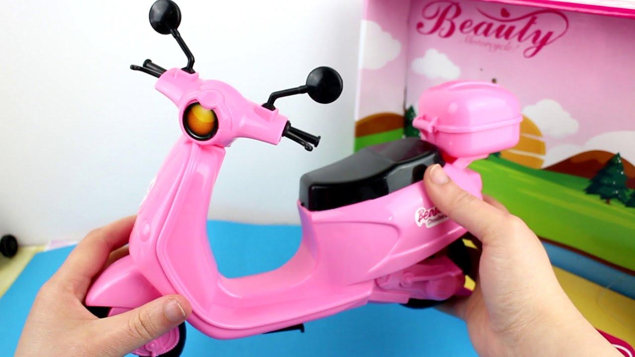 Review de ls Moped de Barbie BARATISISISISMA!