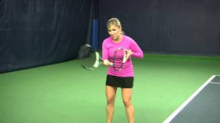 How to Hit a Forehand Groundstroke with Max Rotation - A Quick, Easy Drill