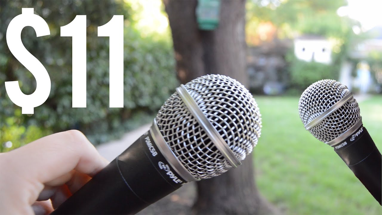 11 dynamic microphone review pyle pro pdmic58 youtube. Black Bedroom Furniture Sets. Home Design Ideas