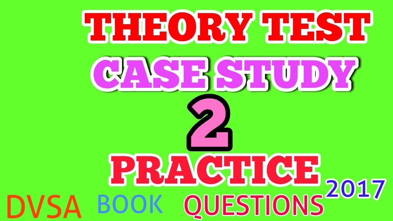 Car Case Study Multiple Driving Theory Test Online