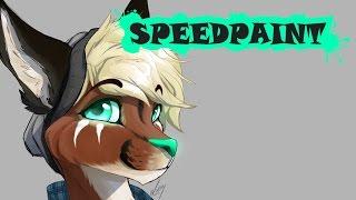 Firri the caracal - fursona speedpaint