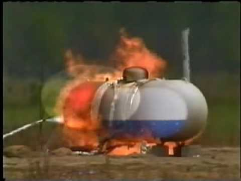 BLEVE (Boiling Liquid Expanding Vapor Explosion) Demonstration - How it Happens Training Video