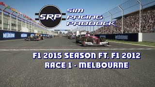 F1 2015 Season Ft. F1 2012 - Race 1