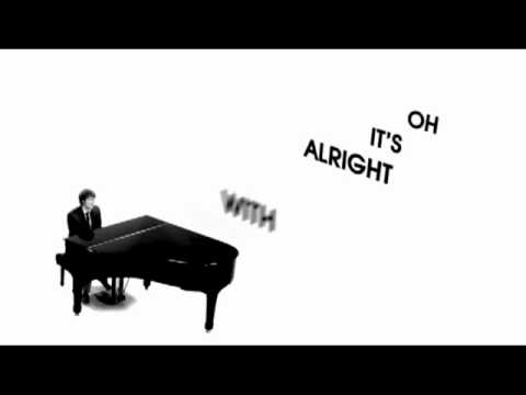 Eric Hutchinson - OK, It's Alright With Me [Offical Lyrics Video]
