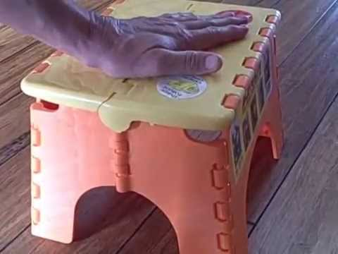 Hidden Dangers Of The Folding Step Stool Youtube