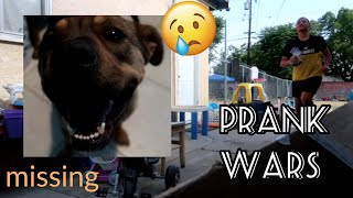 Prank Wars: MISSING DOG PRANK on Twin Brother... He actually fell for it!!!