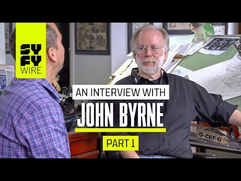 John Byrne: In Depth On Fantastic Four, She-Hulk & Superman | SYFY WIRE