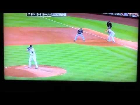 Bronx science / Dewitt Clinton talk during  Yankees game