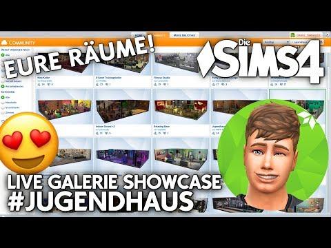 Community Projekt Showcase | Eure #Jugendhaus Räume in der Die Sims 4 Galerie