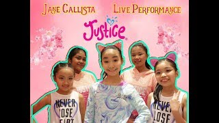 Jane Callista Live Performance at Justice Indonesia Grand Opening