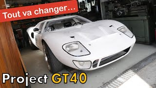 PAINT of the GT40 ! I start the PREPARATION ! [GT40 project #62]