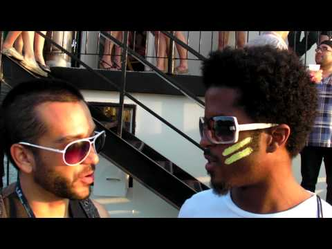 Sam and Zumbi Interview at Bass for ya Face Dance Cruise 2010