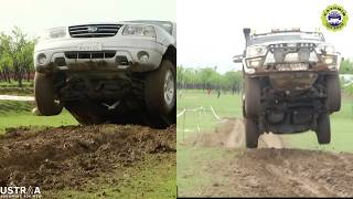 Mahindra Scorpio vs Suzuki Grand Vitara | Off Road Jump | Kashmir Off Road
