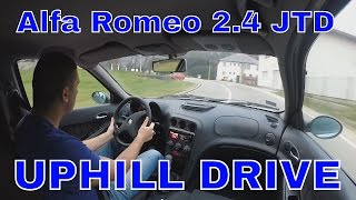 [GoPro] in Alfa Romeo 156 2.4 jtd 10v 180hp Remaped Uphill drive #1